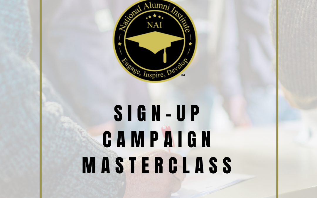 Sign-Up Campaign